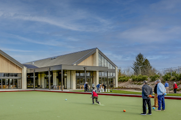 Clubhouse bowling