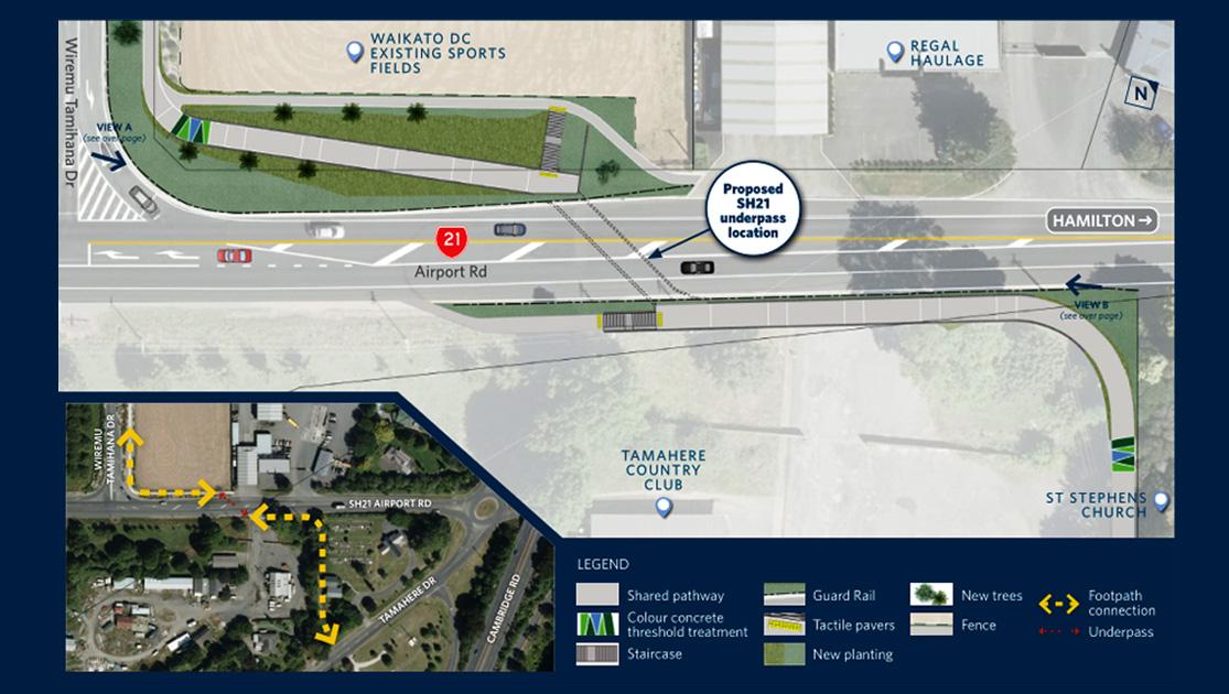 Underpass Construction Begins